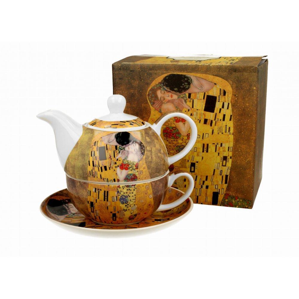 """Ceainic cu cana Tea for one colectia """"Gustav Klimt"""""""