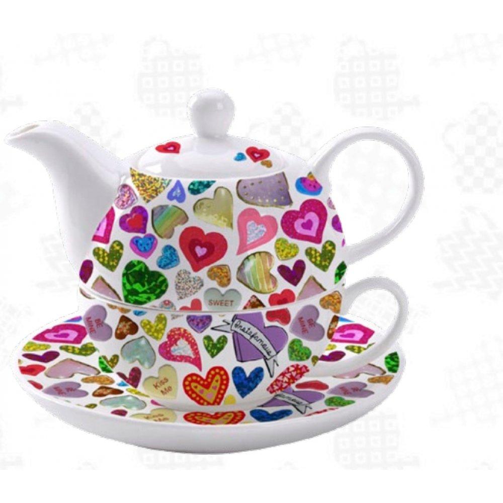 "Tea For One Colectia ""Inimioare"""