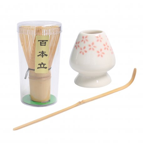 """Set Complet pentru prepararea Ceaiului verde Japonez """"Matcha"""""""