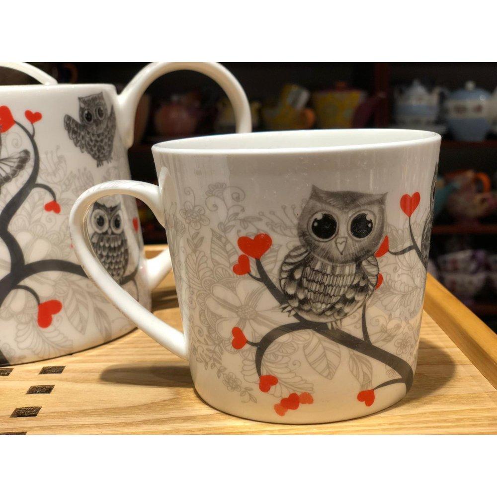 "Cana Portelan colectia ""Lovely Owls"""