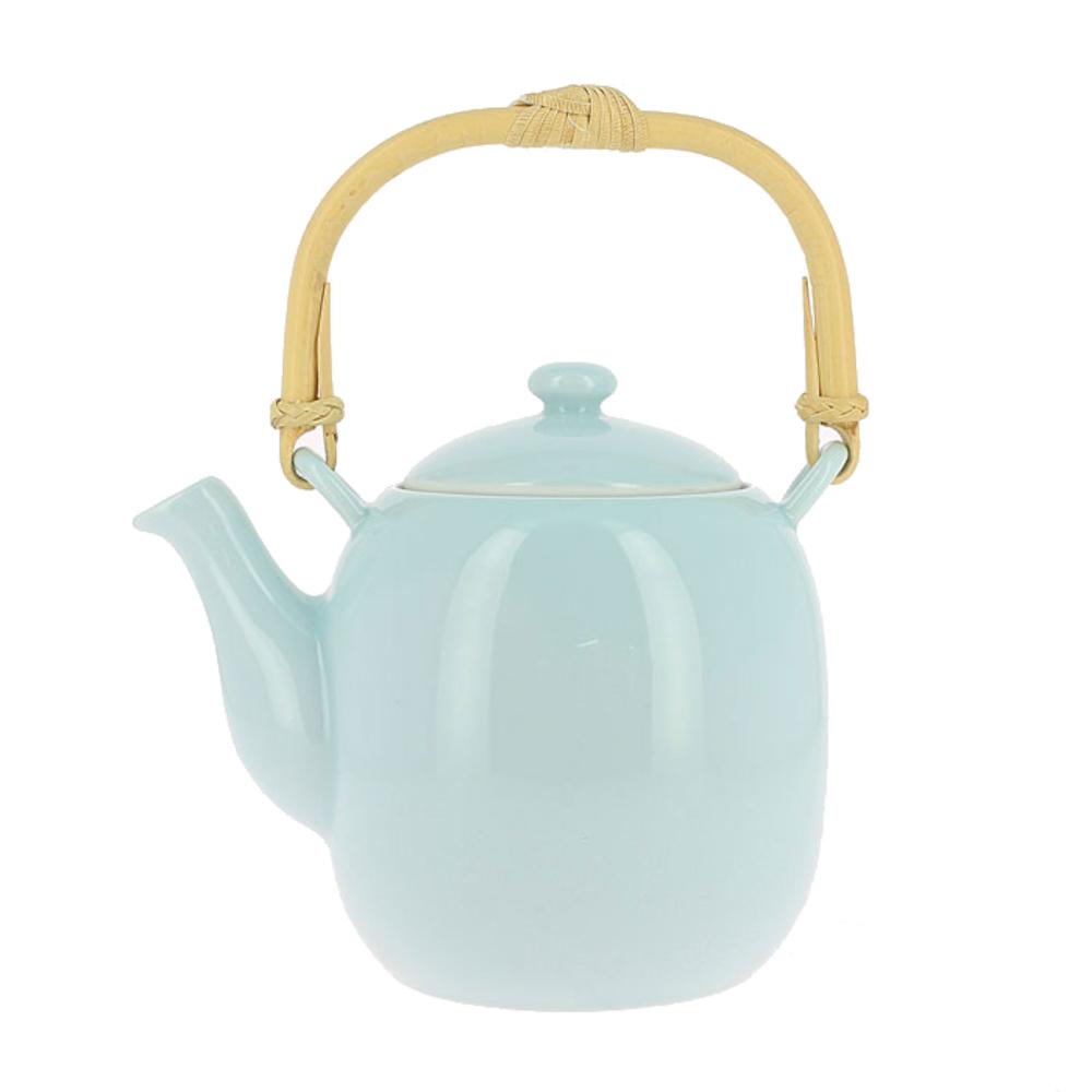 Ceainic Japonez din Portelan Lucrat Manual
