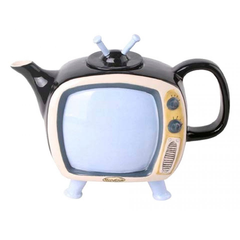 Ceainic Colectia Vintage Televizor