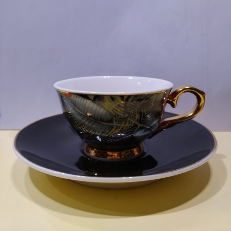 "Ceasca espresso colectia ""Jungle Christmas"" Gold Collection"