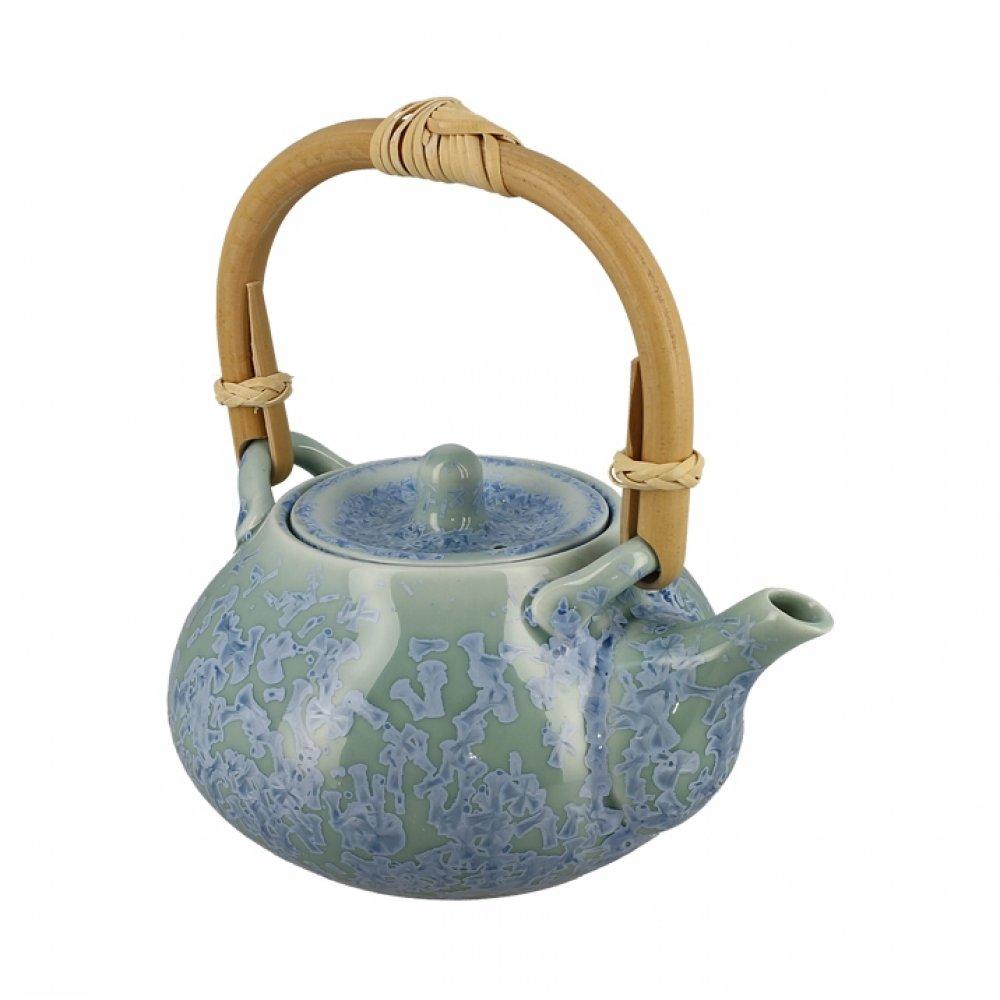 Ceainic din Portelan Lucrat Manual