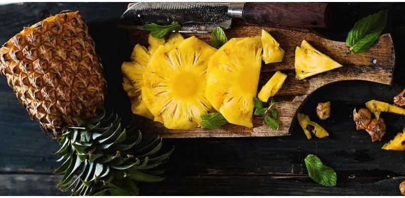Ananasul - gust delicios, beneficii surprinzatoare