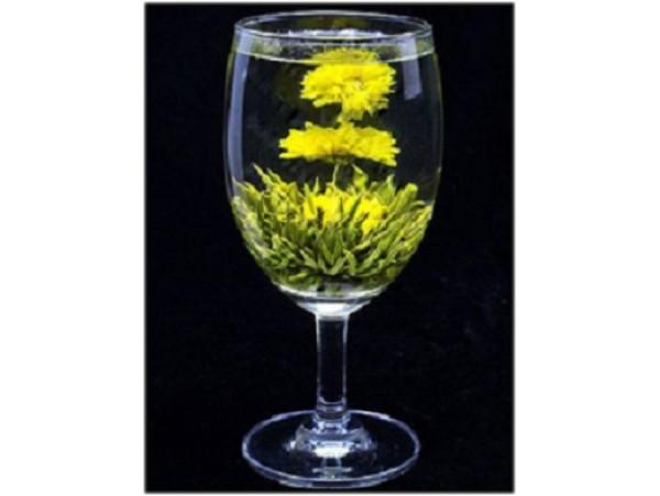 """Ceai Verde Blooming """"Bu Bu Gao Sheng"""""""