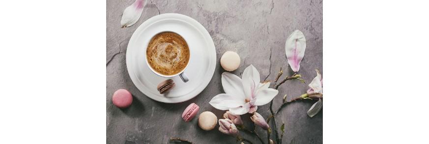 cafea boabe si espresso