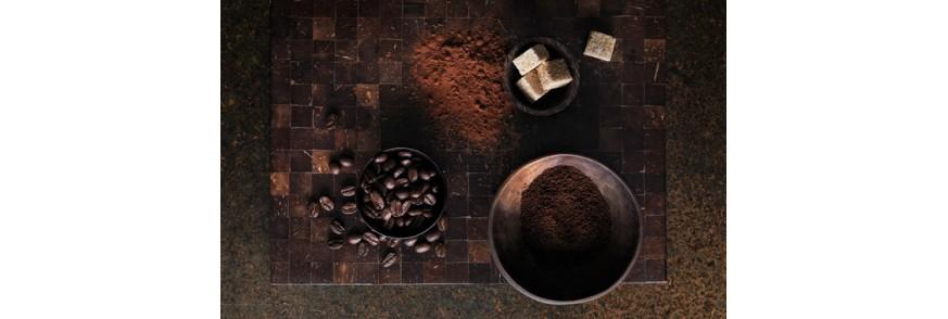 cafea boabe si macinata