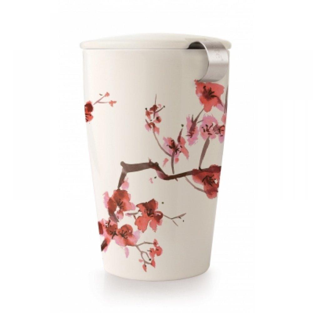 Cana cu capac si Infuzor Cherry Blossom