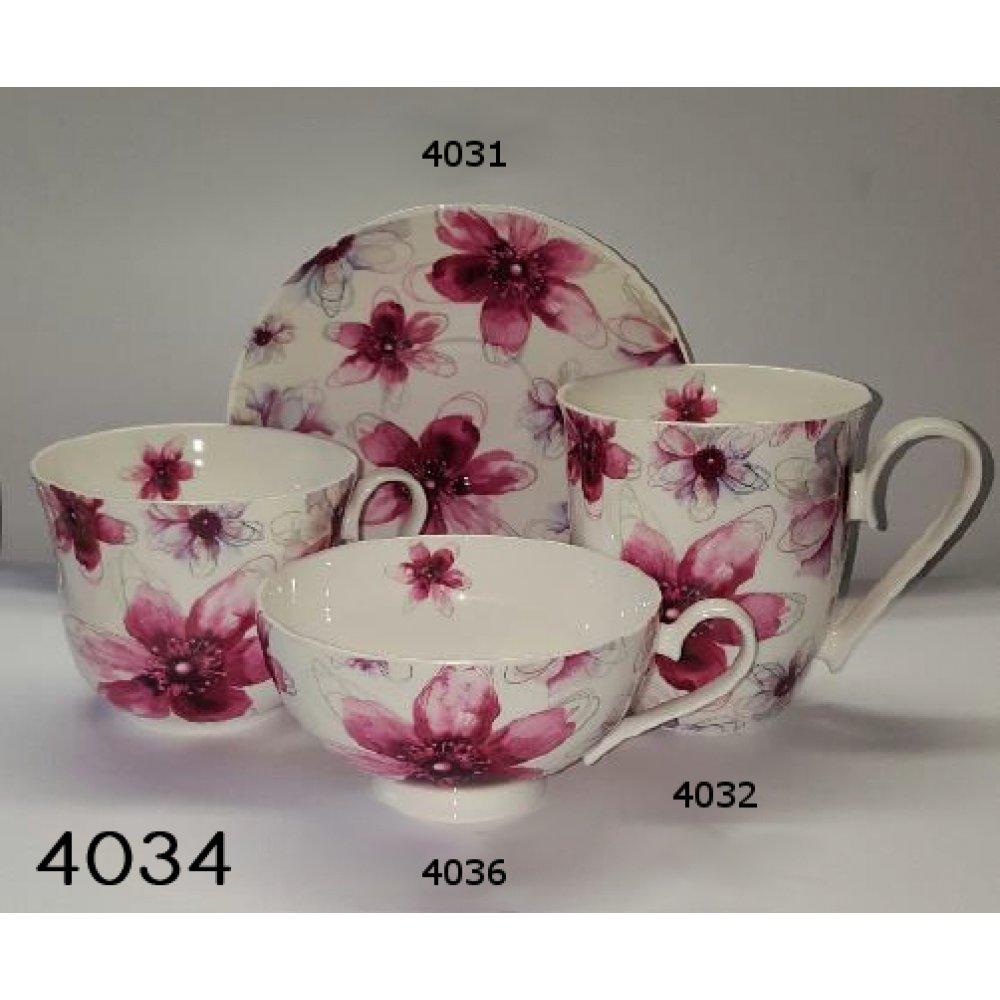 Cana Portelan Colectia Pink Flower