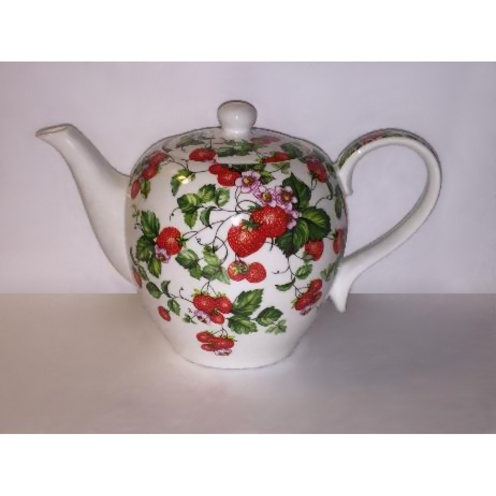 Ceainic Portelan Colectia Strawberry 1.5L