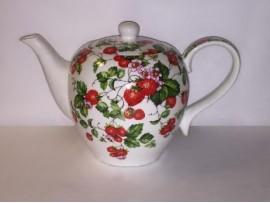 Ceainic Portelan Colectia Strawberry