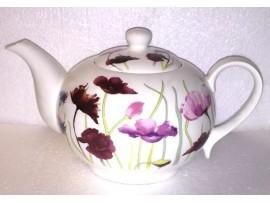 Ceainic Portelan Colectia Simfonia Florilor