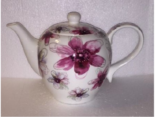 Ceainic Portelan Colectia Pink Flower