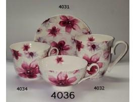 Ceasca mare Portelan Colectia Pink Flower