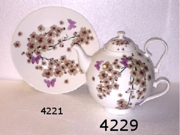Tea for One Portelan Colectia Flori de Cires