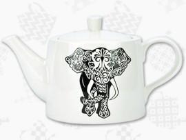 """Ceainic Portelan retro Colectia """"Elefant"""""""