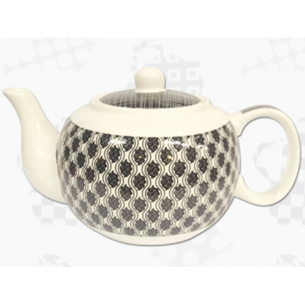 "Ceainic din Portelan colectia Japoneza ""Nori Negri"""