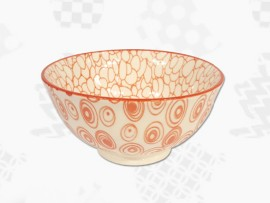 """Cupa Portelan Colectia Japoneza """"Cercuri Rosii"""""""