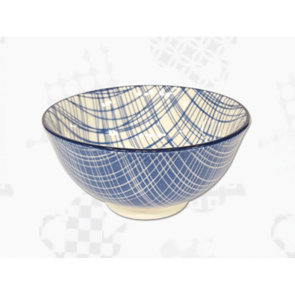 "Cupa Portelan Colectia Japoneza ""Denim Albastru"""