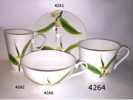 Cana Portelan Colectia Frunza de Ceai