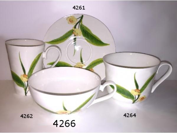 Ceasca mare Portelan Colectia Frunza de Ceai
