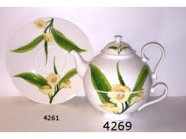 Tea for One Portelan Colectia Frunza de Ceai