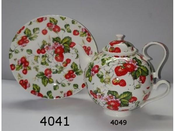 Farfurie Portelan Colectia Strawberry