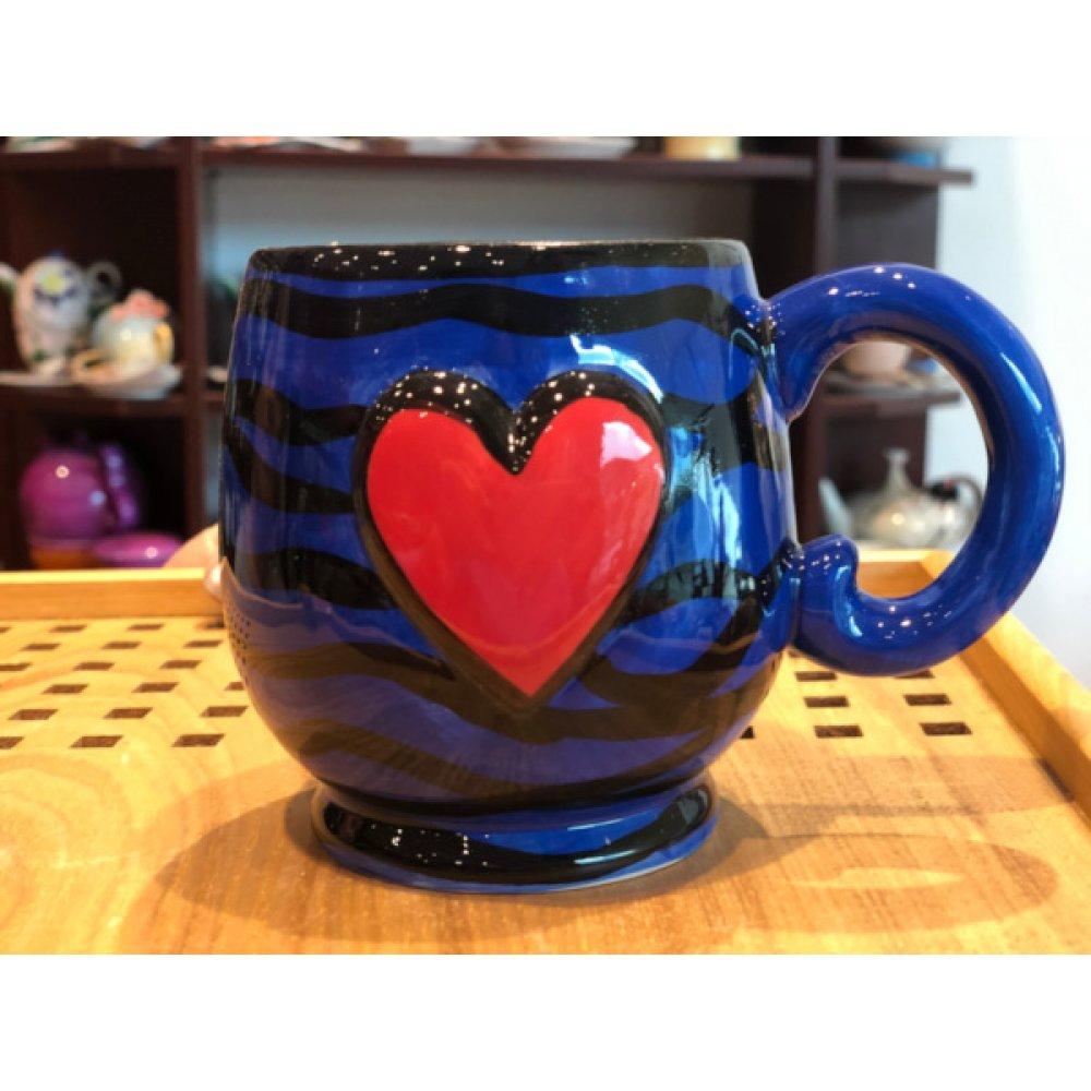 """Cana Colectia """"Colourful Heart"""" Blue"""