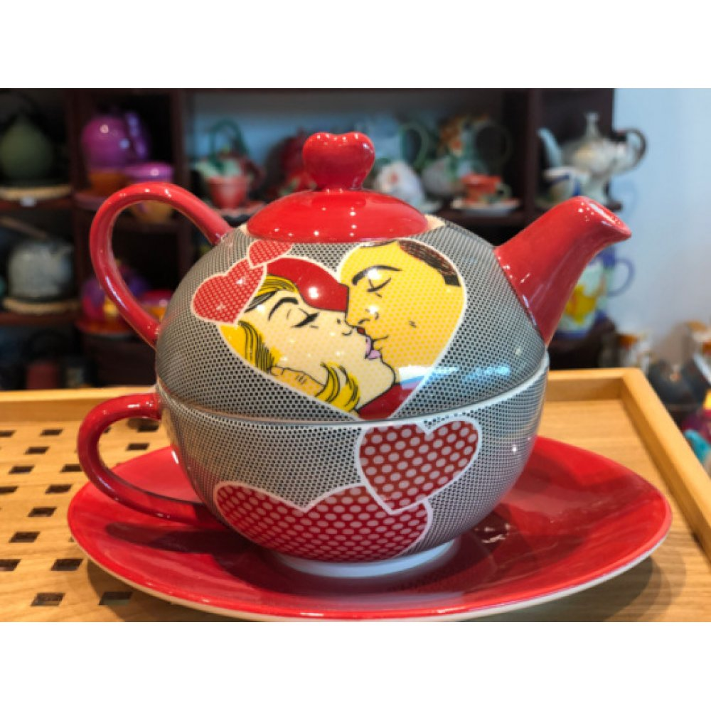 Tea For One Colectia Kissing Couple