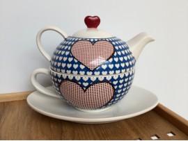 """Tea for One Colectia """"Ceramica cu Inimi"""""""