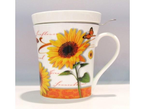 Cana cu Infuzor colectia Floarea Soarelui si Fluturasi