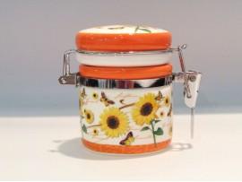 Cutiuta ermetica colectia Floarea Soarelui si Fluturasi
