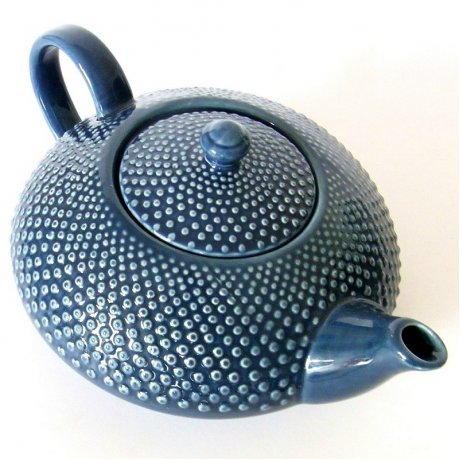 Ceainic Portelan Japonez SHIKOKU Albastru 0.8L