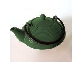 Ceainic Portelan Japonez KYUSHU Verde