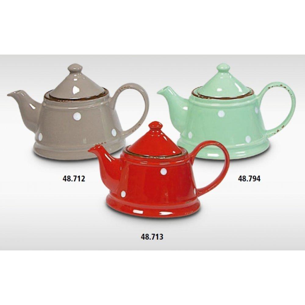 Ceainic Vintage cu Buline 1L