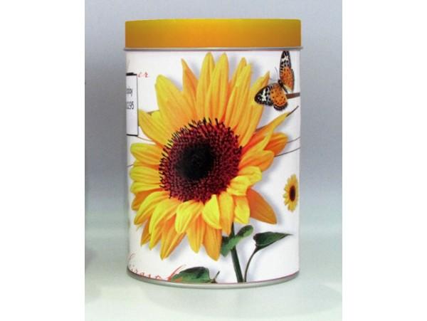 Cutie mare pentru Ceai colectia Floarea Soarelui si Fluturasi