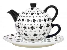 Tea For One Colectia Stelute Black/White