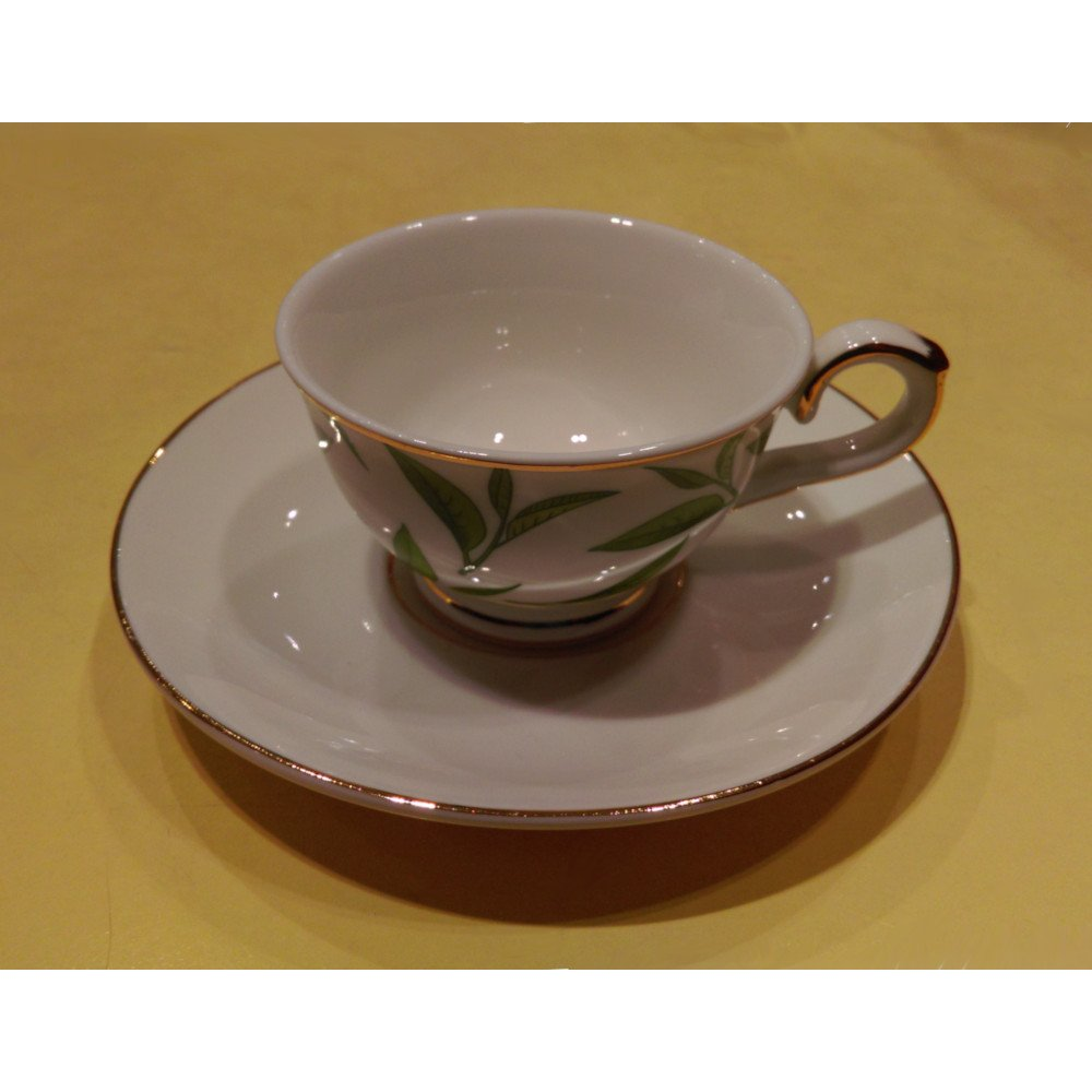 "Ceasca espresso colectia ""Green Tea Leaves"" Gold Collection"