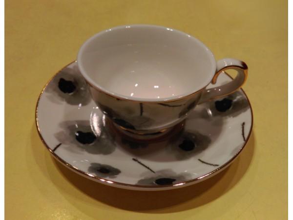 "Ceasca espresso colectia ""Black Poppy"" Gold Collection"