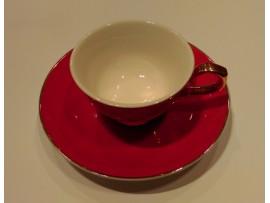 """Ceasca espresso colectia """"La vie en rose"""" Gold Collection"""