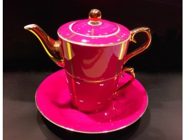 "Ceainic cu cana Tea for One colectia ""La vie en rose"" Gold Collection"