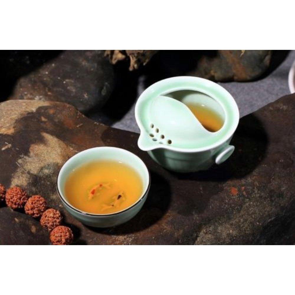 Set de Ceai pentru Calatorie cu Pestisori Koi
