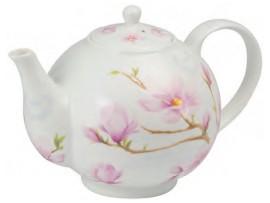 """Ceainic portelan 1L colectia """"Magnolia Blossom"""""""