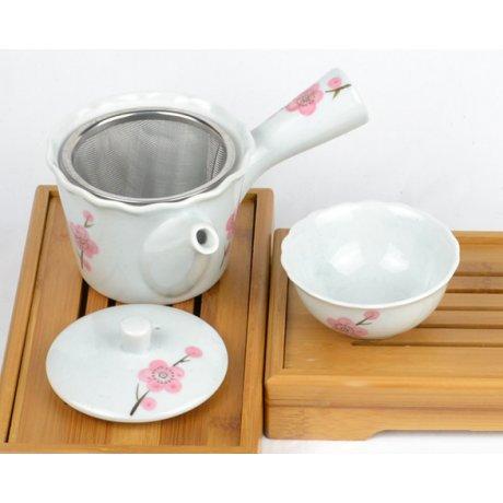 """Set pentru ceai """"Cherry Blossoms White"""""""