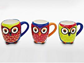 "Cana ceramica colectia ""Clever Owls"""
