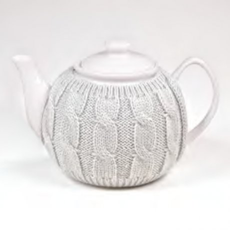Ceainic de Portelan cu Hainita de Iarna 1.1L