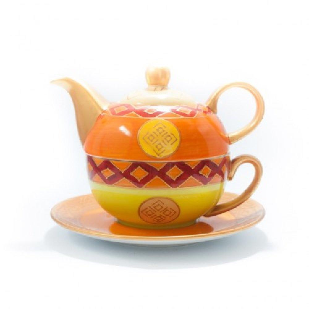 "Tea for One Portelan Pictat Manual ""Jaafar"""