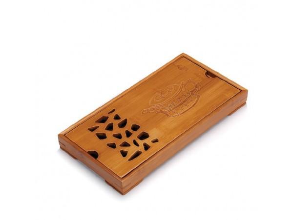 Tava mica pentru Ceai din Bambus