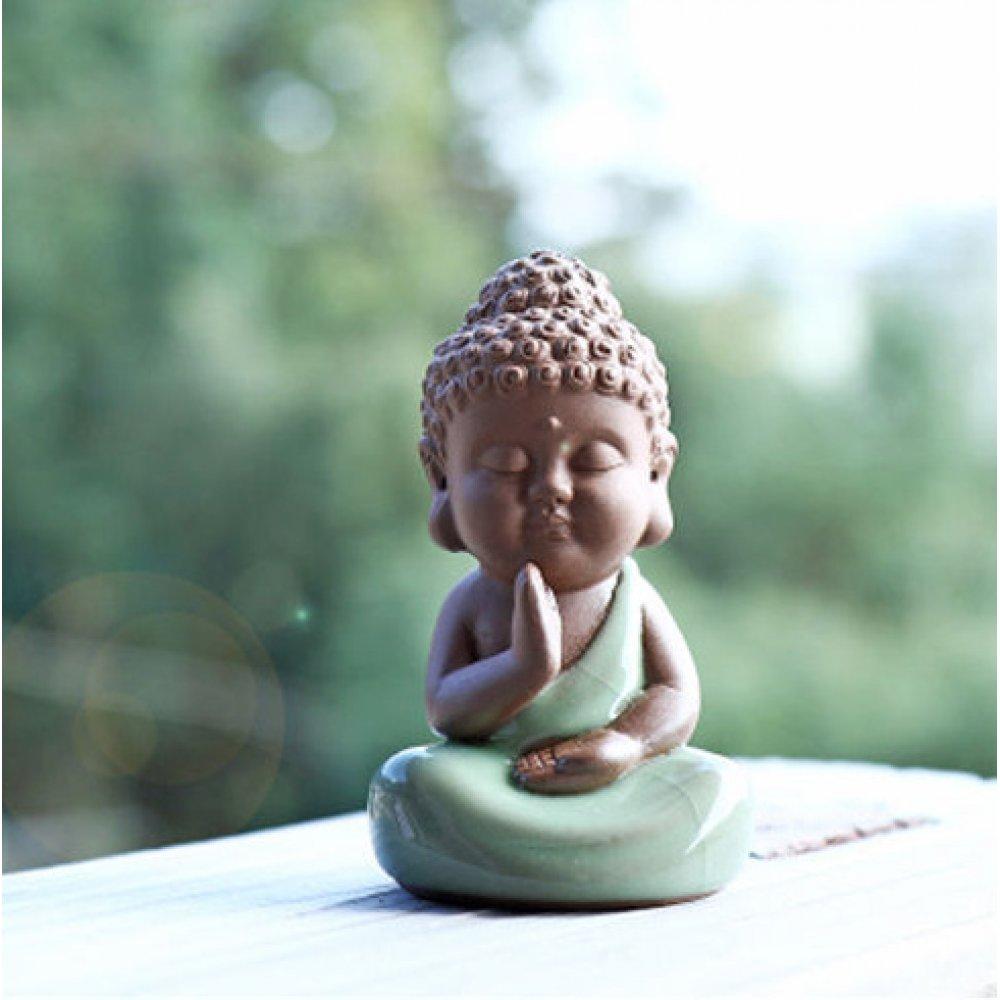 Statueta Buddha pentru Ceremonia Ceaiului